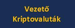 Vezető Kriptovaluta árfolyamok